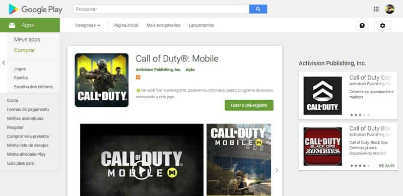 call-of-duty-mobile-pre-registro-google-play Call of Duty: Mobile entra em pré-registro na Google Play