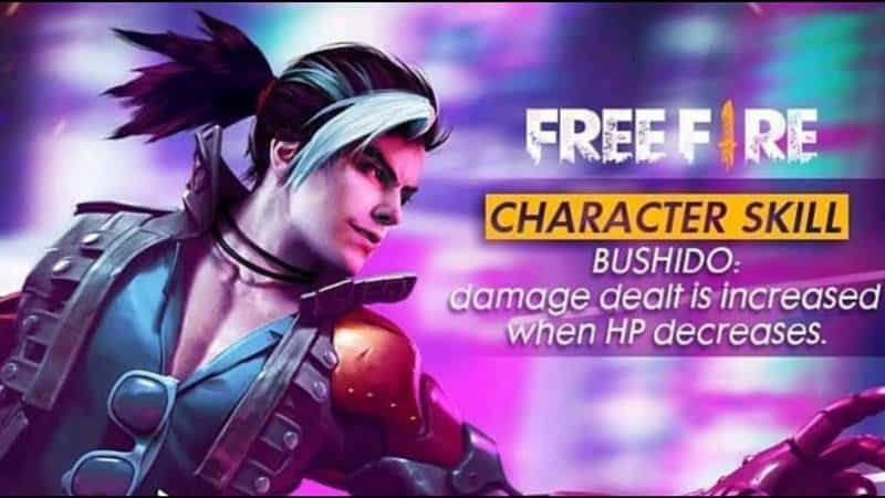 Free Fire All About The New Character Hayato Mobile Gamer