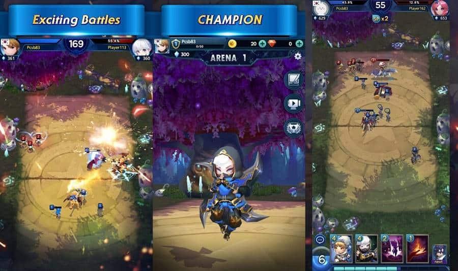 Fantasy-Stars-Battle-Arena Os Melhores Jogos para Celular da Semana (12/04/2019)