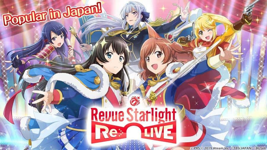 "Revue-Starlight-iphone Revue Starlight Re LIVE: jogo de ""Waifus"" para Android e iPhone"