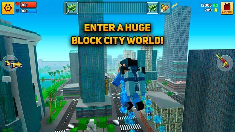 blocky-city-wars 100 Melhores Jogos Offline Grátis para Android