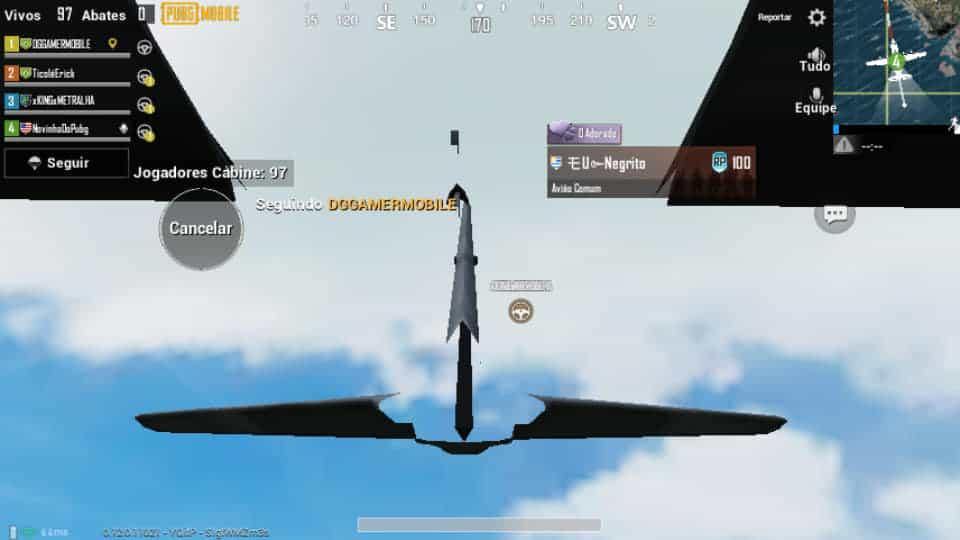 bug-jogadores-caem-do-aviao-2 PUBG Mobile: Bug arremessa jogadores do avião (sem paraquedas)