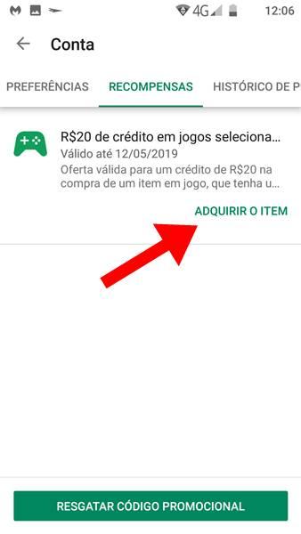 como-resgatar-recompensas-google-play-4 Como Resgatar Créditos Grátis (Recompensas) na Google Play