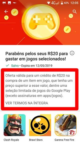 como-resgatar-recompensas-google-play-5 Como Resgatar Créditos Grátis (Recompensas) na Google Play