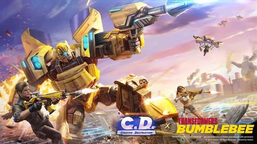creative-destruction-transformer-event Creative Destruction ganha modo com Transformers