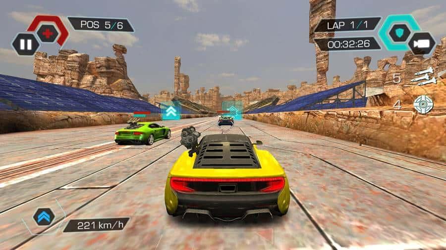 cyberline-racing-android 100 Melhores Jogos Offline Grátis para Android