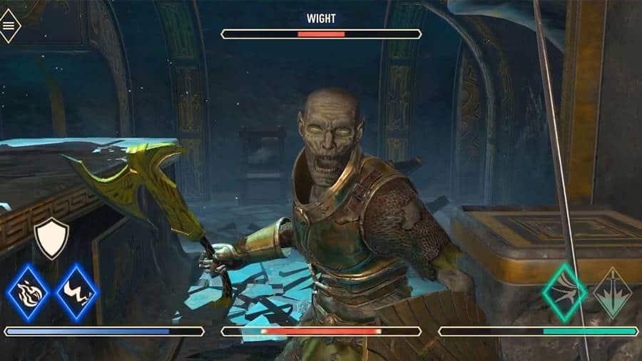 elder-scrolls-blades-combate Tudo que tem de errado com The Elder Scrolls Blades