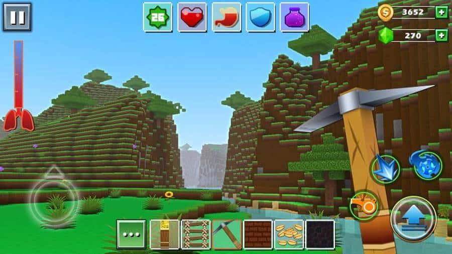 exploration-lite-craft 100 Melhores Jogos Offline Grátis para Android