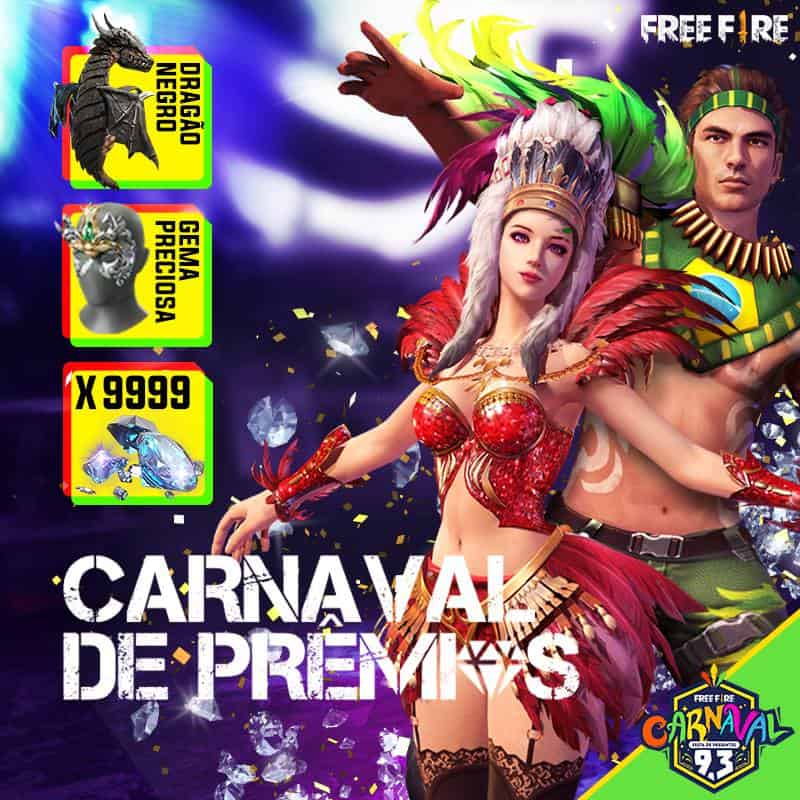 free-fire-skin-carnaval 10 Curiosidades Incríveis sobre Free Fire