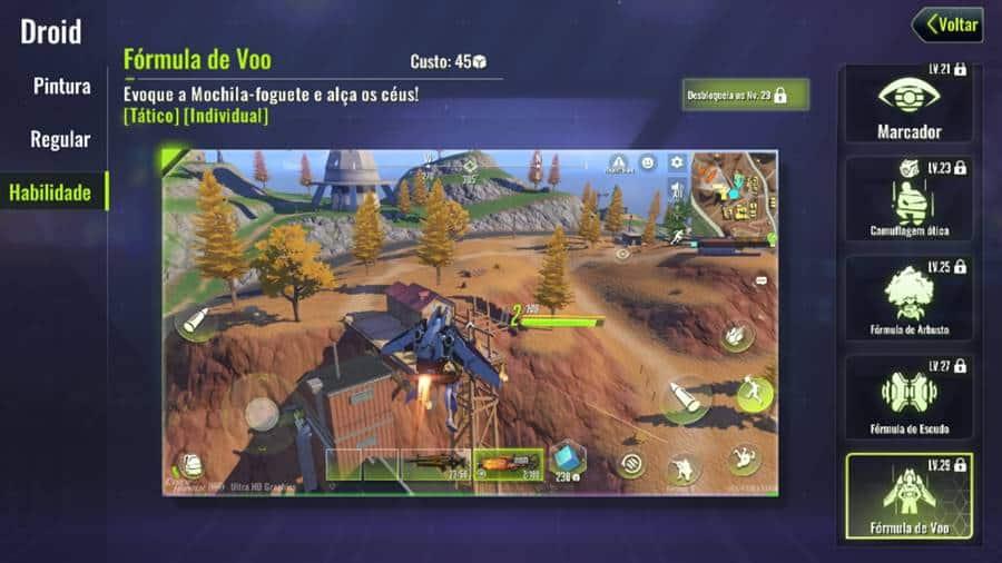 mochila-foguete-cyber-hunter Cyber Hunter está incomodando fãs de Free Fire e outros jogos