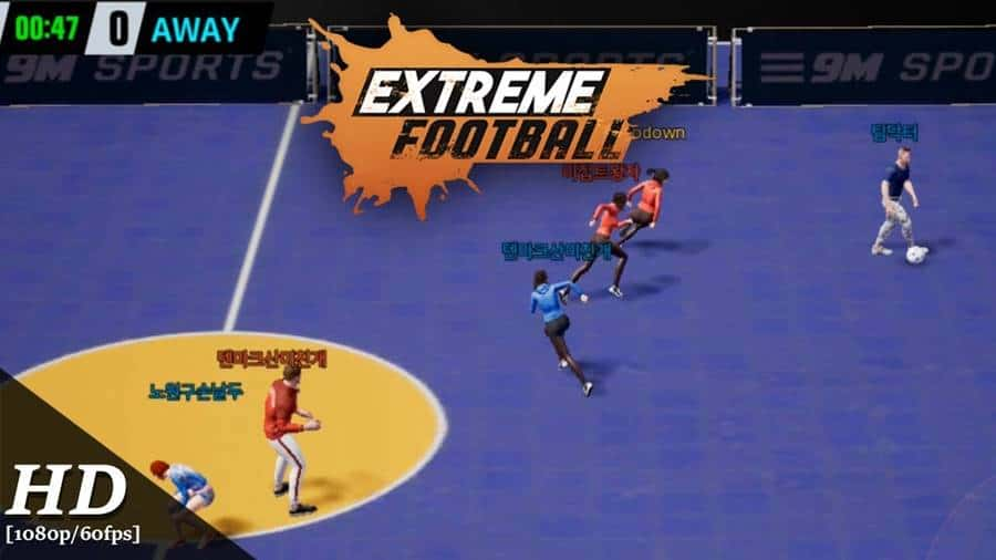 "Extreme Football – APK do jogo no estilo ""FIFA Street"""