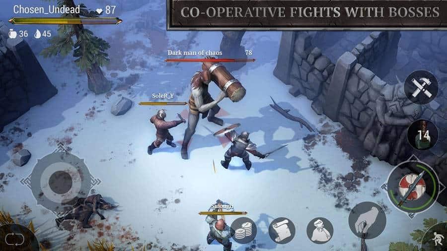 Frostborn-android-apk-1 Frostborn é o novo jogo da Kefir (APK)