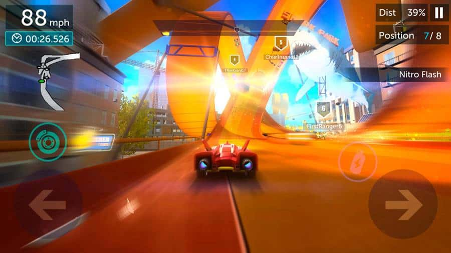 "Hot-wheels-Infinite-Loop Hot Wheels Infinite Loop é o ""Asphalt"" de brinquedo da Mattel"