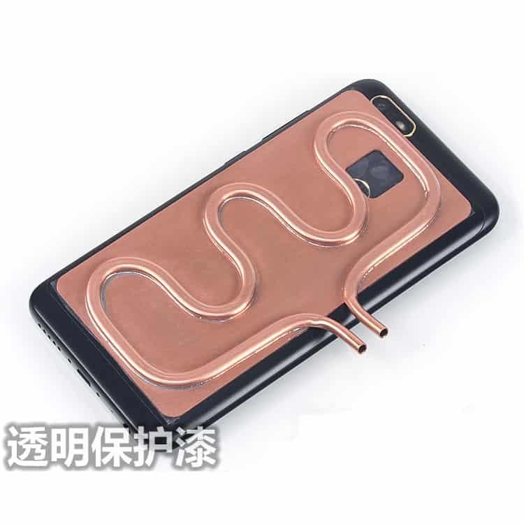 KOOLASON-DIY-Laptop-cooler-dissipador-de-calor-do-radiador-de-refrigera-o-de-gua-tubo-de Water Cooler com dissipador para Smartphone? Sim! Isso Existe!