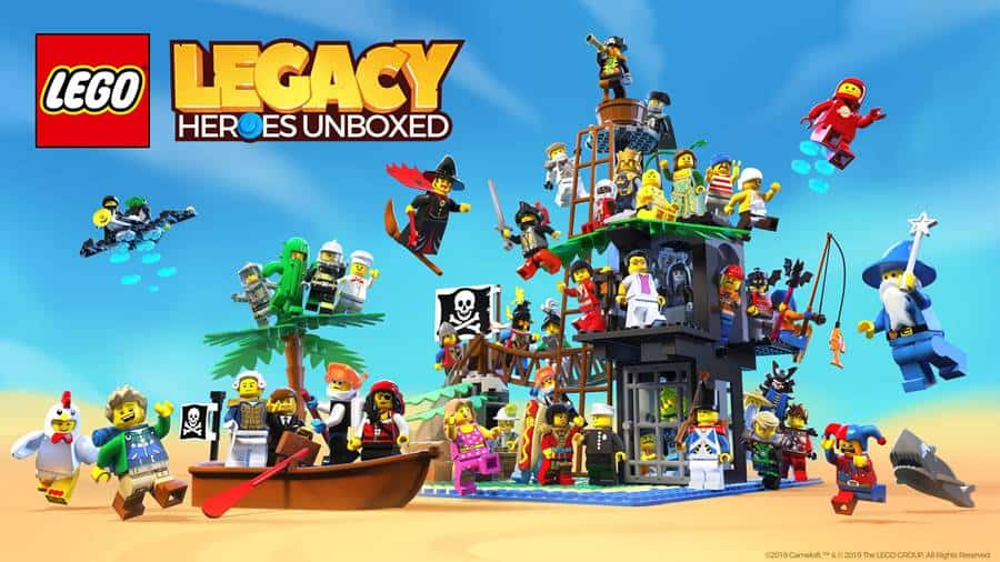 LEGO-Legacy-Heroes Gameloft e LEGO anunciam Legacy: Heroes Unboxed