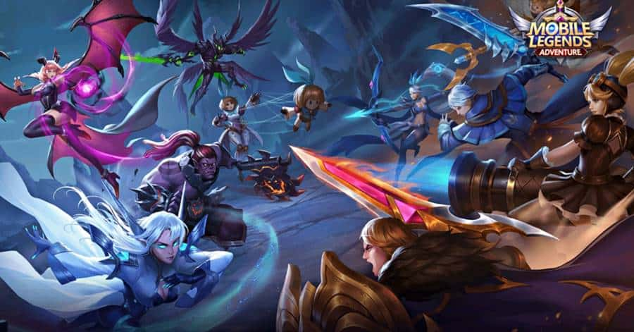 Mobile-Legends-Adbenture Mobile Legends Adventure é um spin-off do MOBA de sucesso