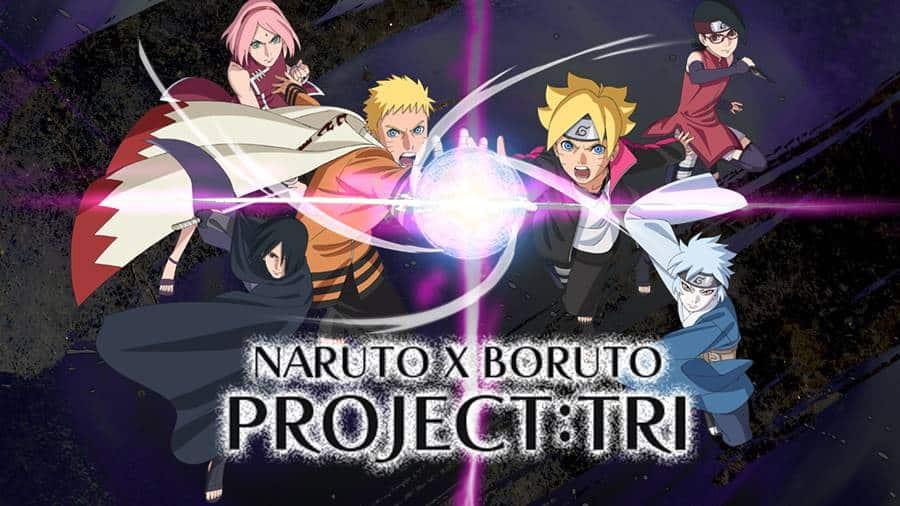 Naruto-X-Boruto-Project-Tri-android-iphone Naruto X Boruto Project Tri será lançado para Celular e PC