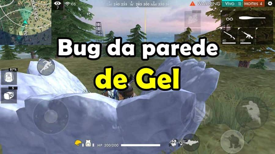 bug-parede-gel-free-fire O Bug da granada de gel no Free Fire, dá ban?
