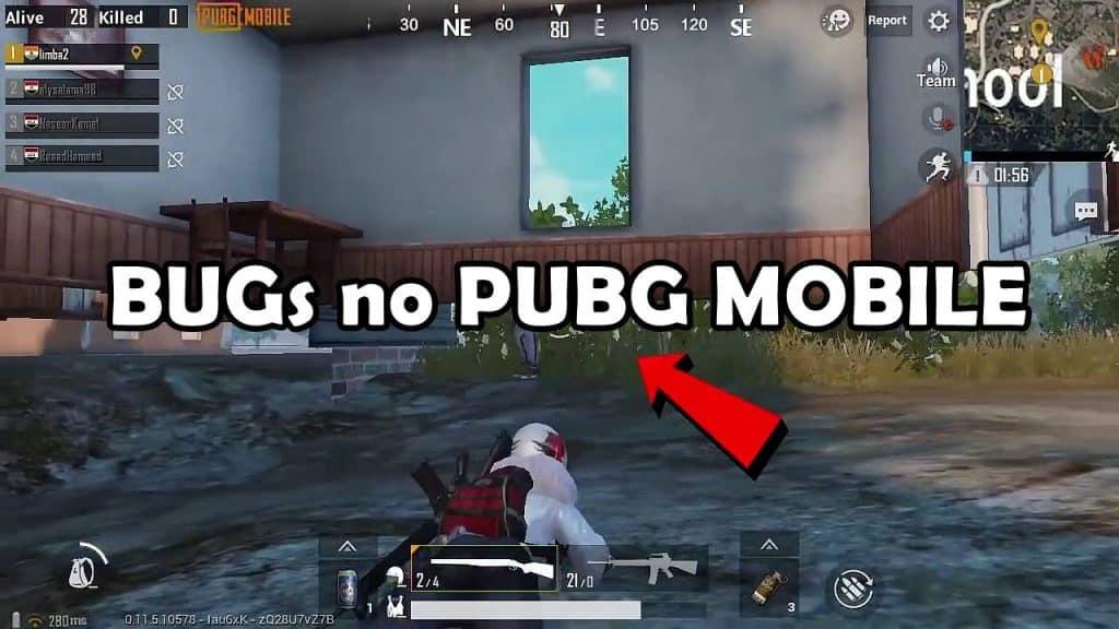 """bugs-pubg-mobile-1024x576 PUBG Mobile: conheça os """"bugs"""" para """"entrar no chão"""" e """"entrar no teto"""""""