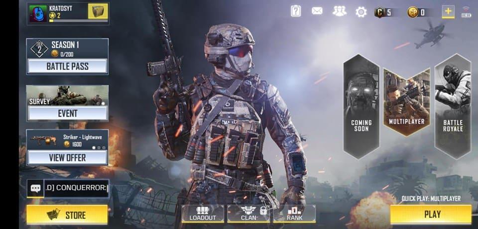 Call of Duty Mobile está beta na Índia (APK e como jogar)