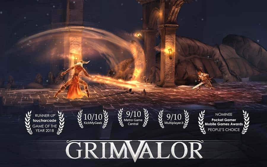 grimvalor-android Grimvalor sai do beta e é lançado globalmente para Android