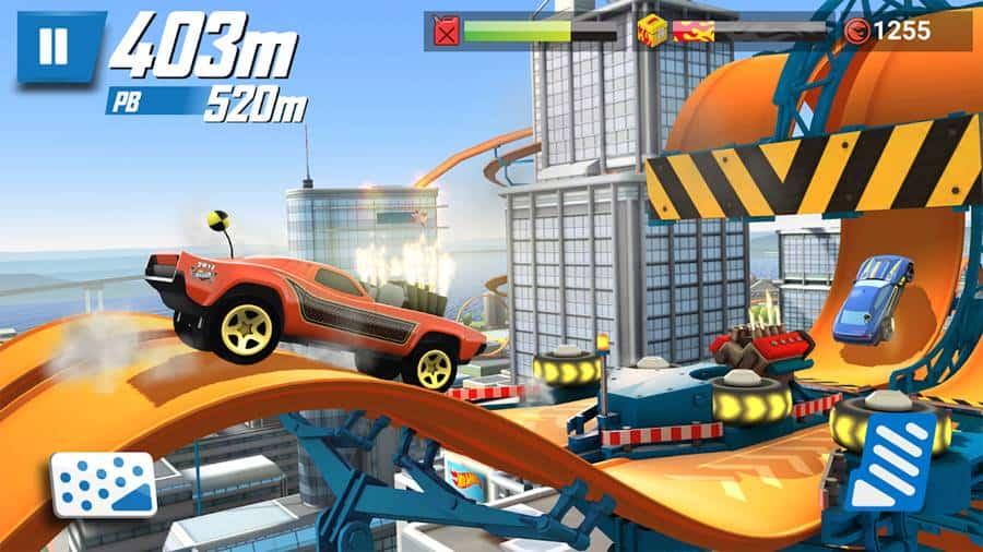 hot-wheels-race-off-jogo-offline Hot Wheels continua um viciante jogo offline para Android e iOS
