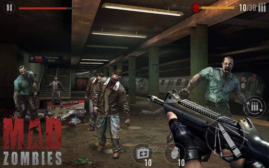 mad-zombies-android-apk-offline Mad Zombies - Jogo de Tiro OFFLINE para Android