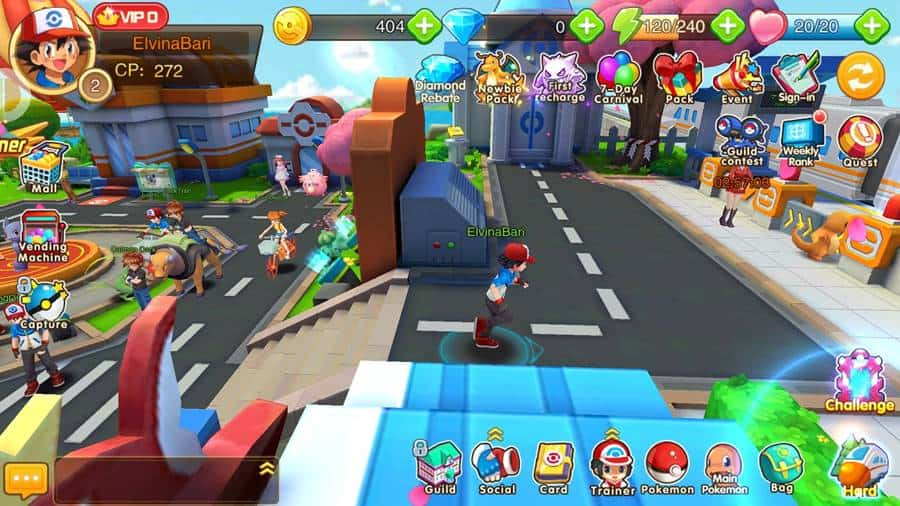 magical-monster-apk-pokemon-2 Magical Monster - MMORPG de Pokémon (Android - APK)