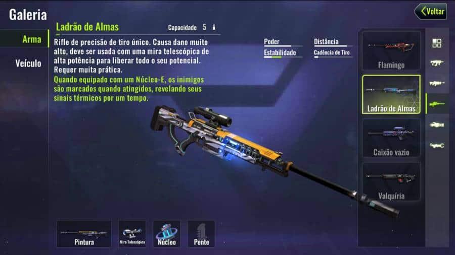 melhores-armas-cyber-hunter-melhor-rifle-sniper Cybe Hunter: As Melhores Armas do game