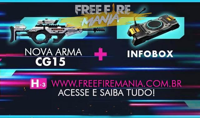 nova-arma-cg15-novo-item-infobox-atualizacao-de-maio-2019 Free Fire: todas as novidades da atualização - maio 2019