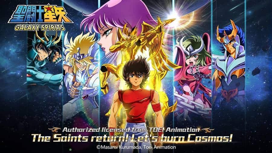saint-seiya-galaxy-spirits-android-iphone Saint Seiya Galaxy Spirits: novo jogo dos Cavaleiros ganha versão em inglês