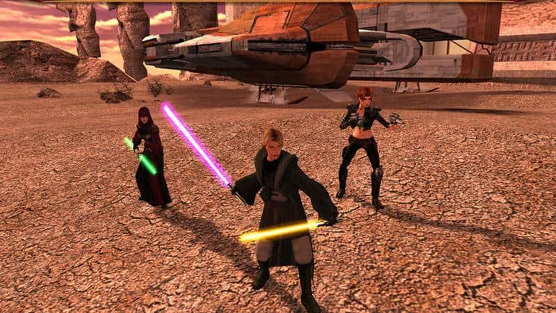 star-wars-knights-of-the-old-republic-android Star Wars KOTOR: RPG lendário está em promoção no Android (em português)