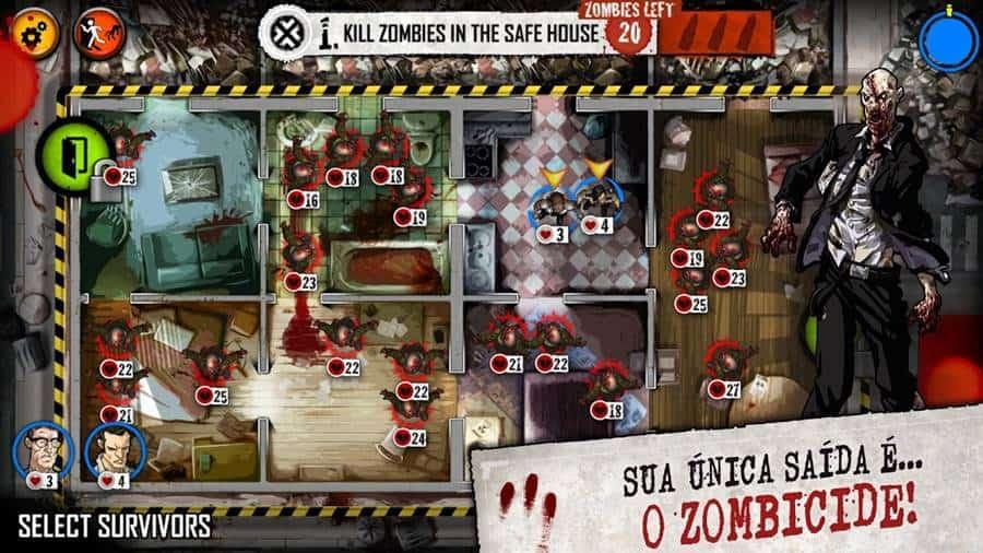 zombiecide-android-iphone Zombicide: Jogo Premium e offline para Android e iOS