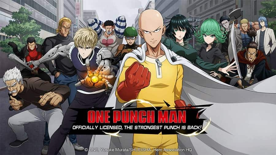 One-Punch-Man-Road-To-Hero-android-apk-ios Jogo do One Punch Man é lançado no Android com o nome ridículo