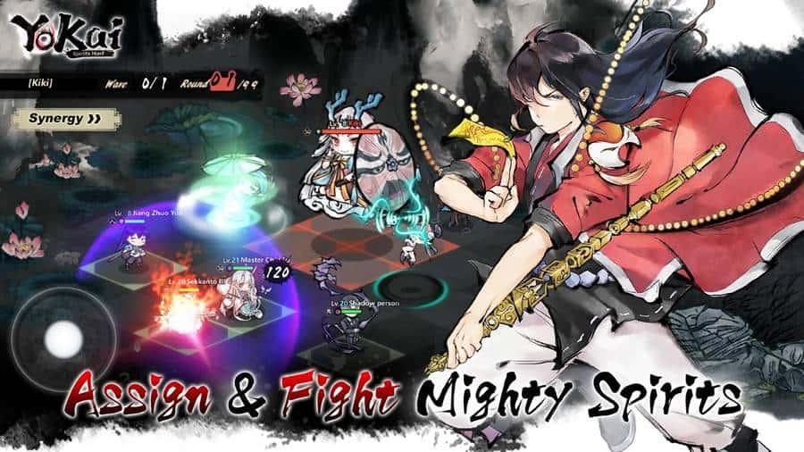 Yokai-Spirits-Hunt-image-1 Yokai Spirits Hunt: RPG com arte única está em pré-registro