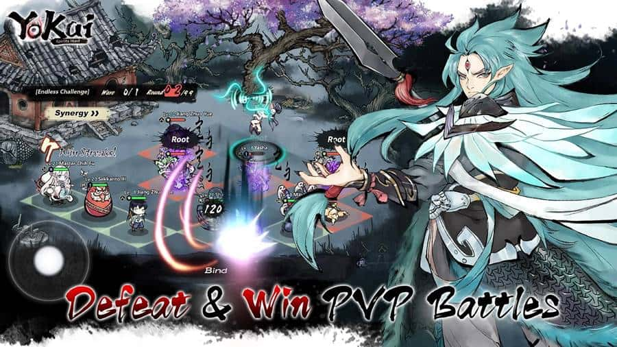 Yokai-Spirits-Hunt-image-2 Yokai Spirits Hunt: RPG com arte única está em pré-registro