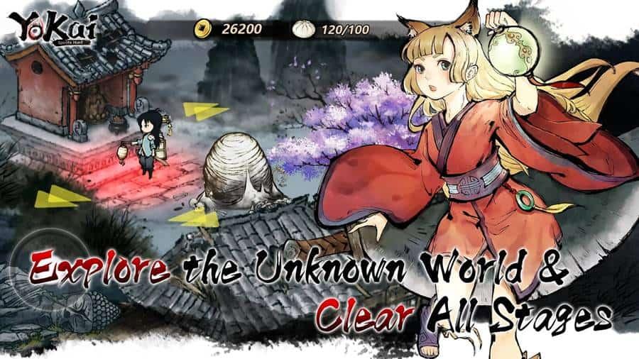 Yokai-Spirits-Hunt-image-3 Yokai Spirits Hunt: RPG com arte única está em pré-registro