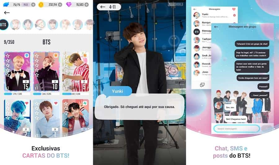bts-world-android-apk BTS World: chega ao Android (APK) e iOS em português