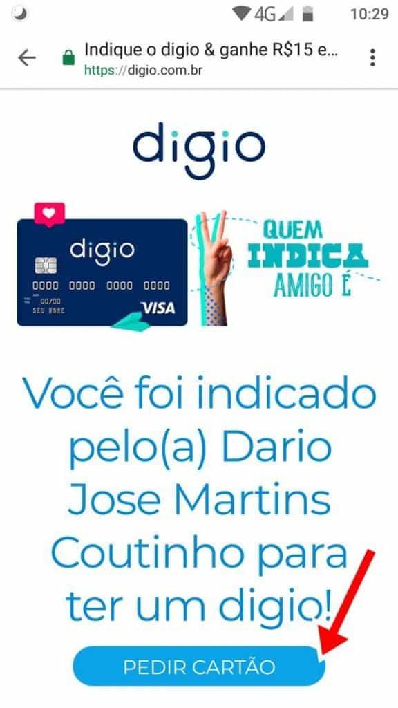 digio-convite-como-solicitar-1-576x1024 Convite Cartão Digio (mais como solicitar / fazer)