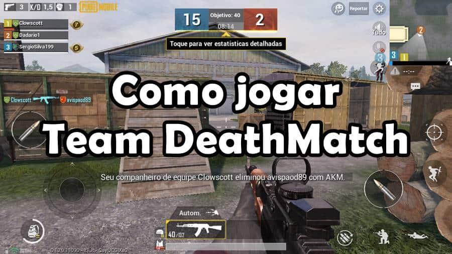pubg-mobile-como-jogar-team-deathmatch-primeira-pessoa PUBG Mobile: como jogar o modo TDM (4v4) em primeira pessoa