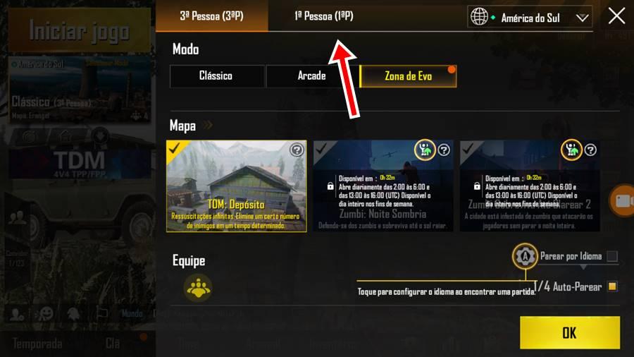 pubg-mobile-primeira-pessoa-tdm-modo-cs-crossfire-2 PUBG Mobile: como jogar o modo TDM (4v4) em primeira pessoa