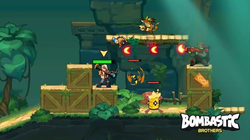 "Bombastic-Brothers-iOS-Gaming-Cypher Bombastic Brothers - Jogo estilo ""Contra"" e ""Metal Slug"" para Android e iOS"