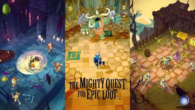 The-Mighty-Quest-for-Epic-Loot-Mobile-android-ios Melhores Jogos para Celular da Semana (12-07-2019)