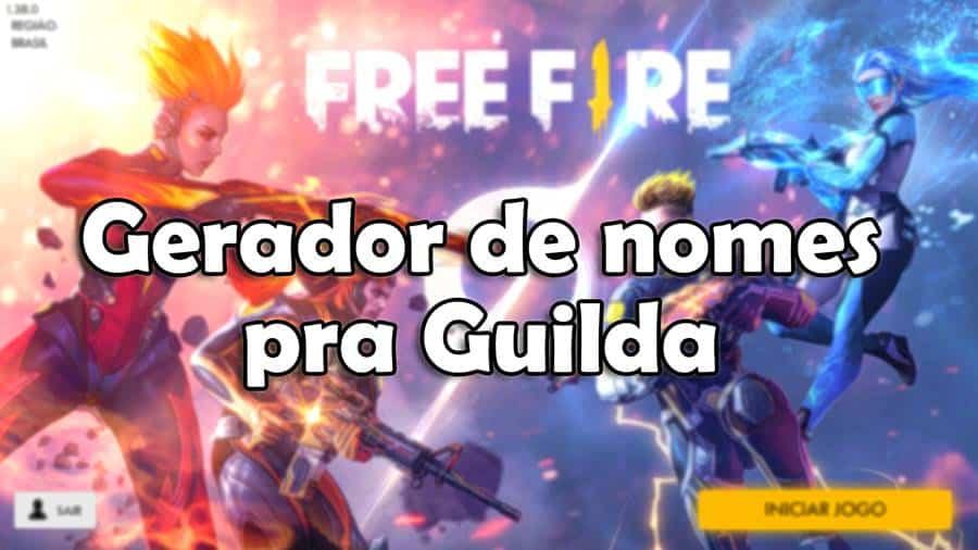 Free Fire: Gerador para Nomes de Guildas já disponível
