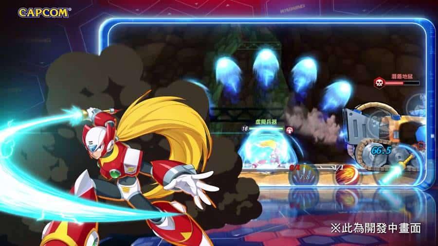 mega-man-x-dive-1 Mega Man X DiVE é anunciado para Android e iOS