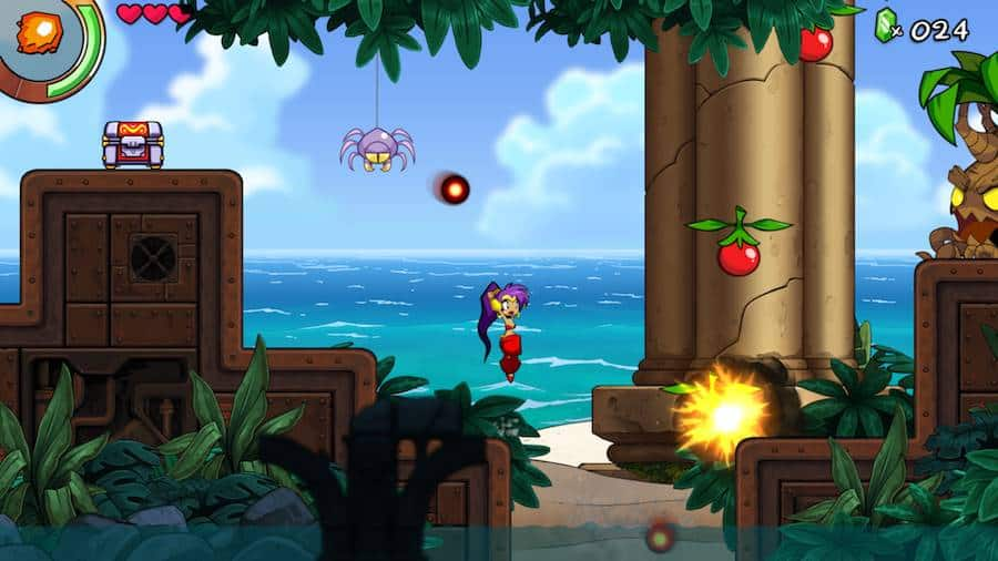 Shantae-and-the-Seven-Sirens-3 Shantae and the Seven Sirens estreia no iOS antes de outras plataformas