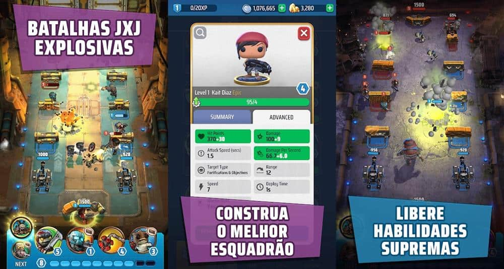 "gears-pop-android-iphone Gear Pop: Jogo estilo ""Clash Royale"" é lançado no Android e iOS"