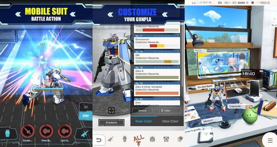 gundam-android-iphone Melhores Jogos para Celular da Semana (02-08-2019)