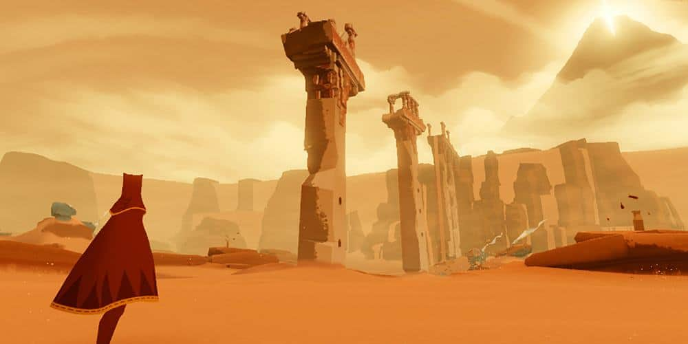 "journey-ios O aclamado ""Journey"" é lançado para iPhone e iPad"