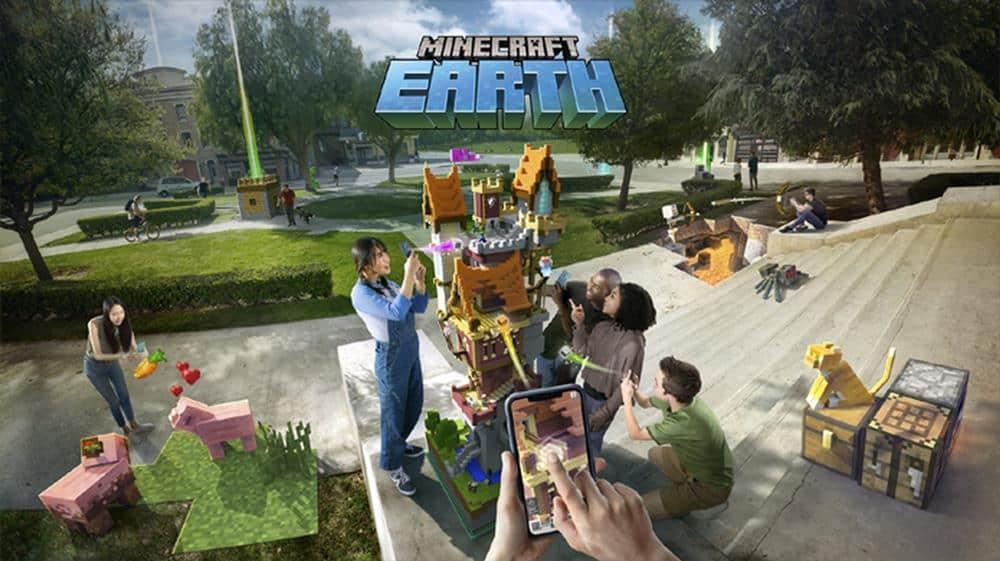 minecraft-earth-beta APK de Minecraft Earth vaza na Internet